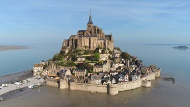 Mont-Saint Michel, le labyrinthe de l'archange
