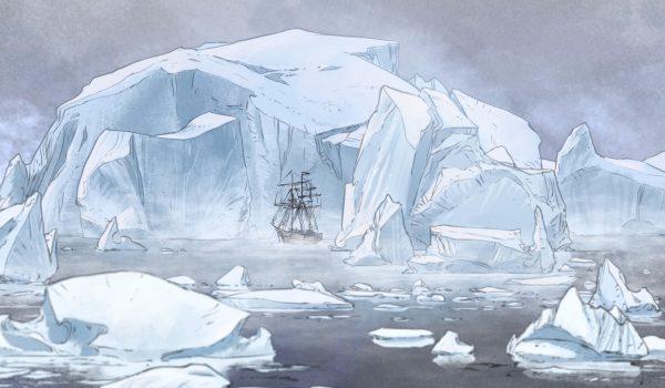 Animation 3 - Le Pourquoi Pas entre les icebergs @TAO ZIA-MC4